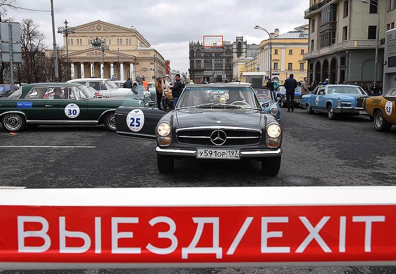 Раритетный автомобиль Mercedes