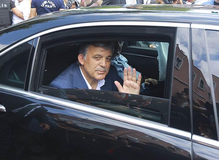 Бывший президент Турции Абдулла Гюль