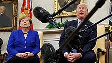 Дональд Трамп и Ангела Меркель не преодолели барьеры