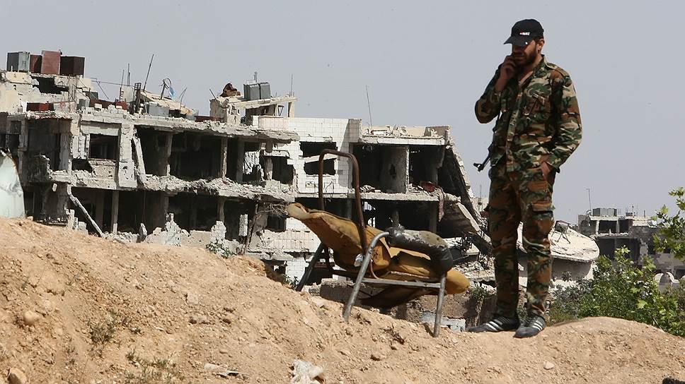 Как по Сирии нанесли новый удар