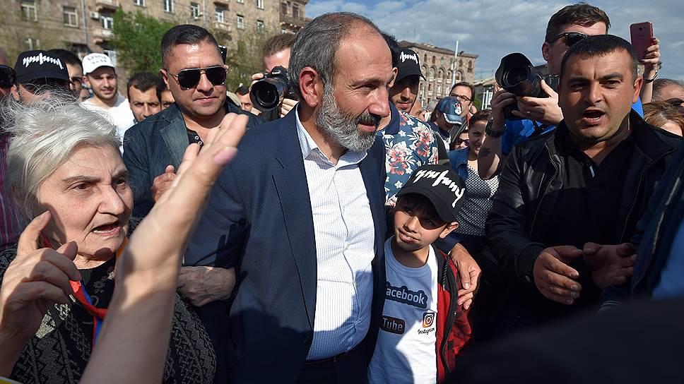 Как Никол Пашинян стал единственным кандидатом в премьеры
