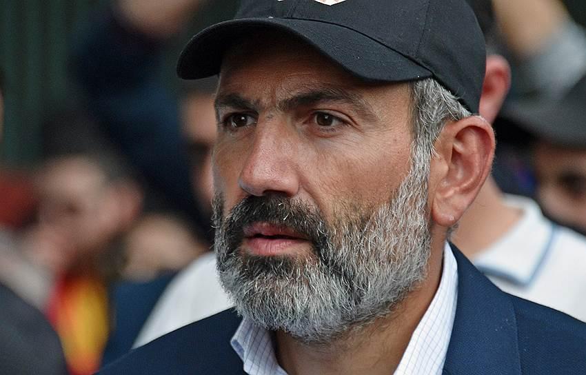 Кандидат на пост премьер-министра Армении Никол Пашинян