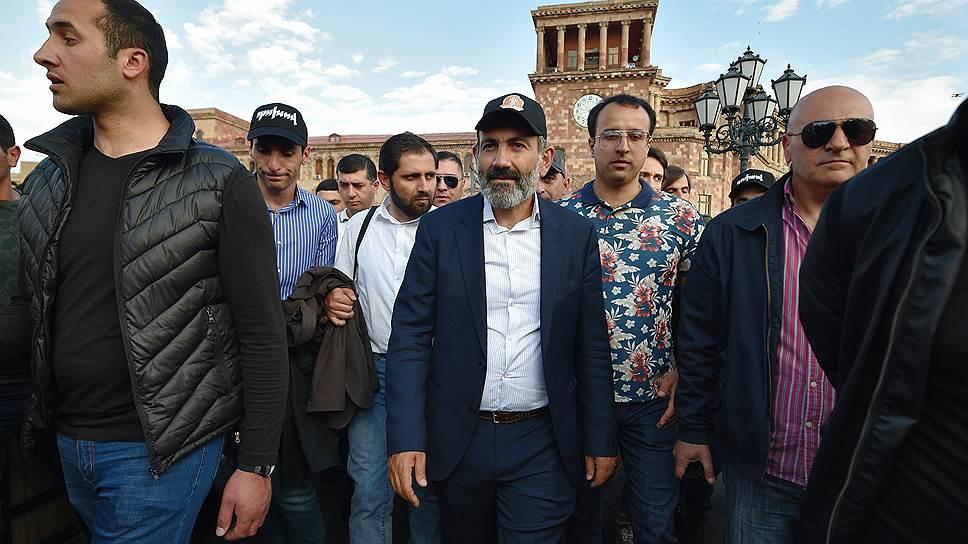 Как началось заседание в парламенте Армении