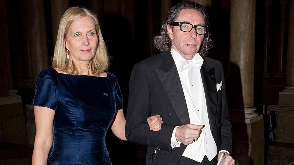 Член Шведской академии Катарина Фростенсон со своим мужем — фотографом Жан-Клодом Арно
