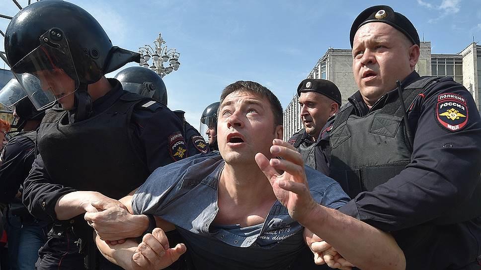 Акции протеста в городах России
