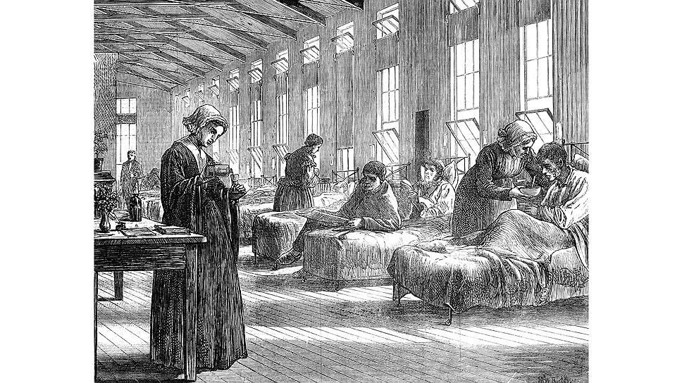 Британские медработники всегда успешно и с прибылью боролись с массовыми заболеваниями
