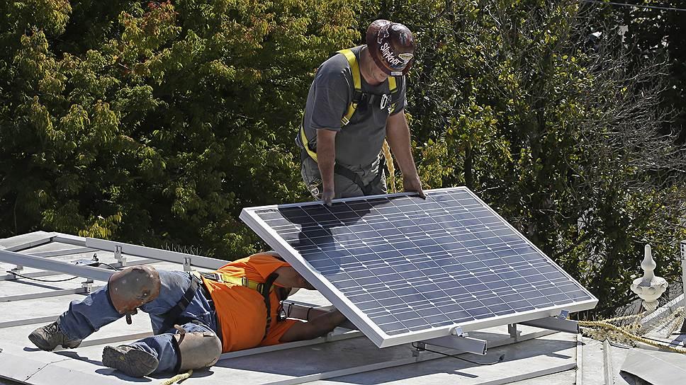 Как установка солнечных батарей позволит сэкономить домохозяйствам в Калифорнии