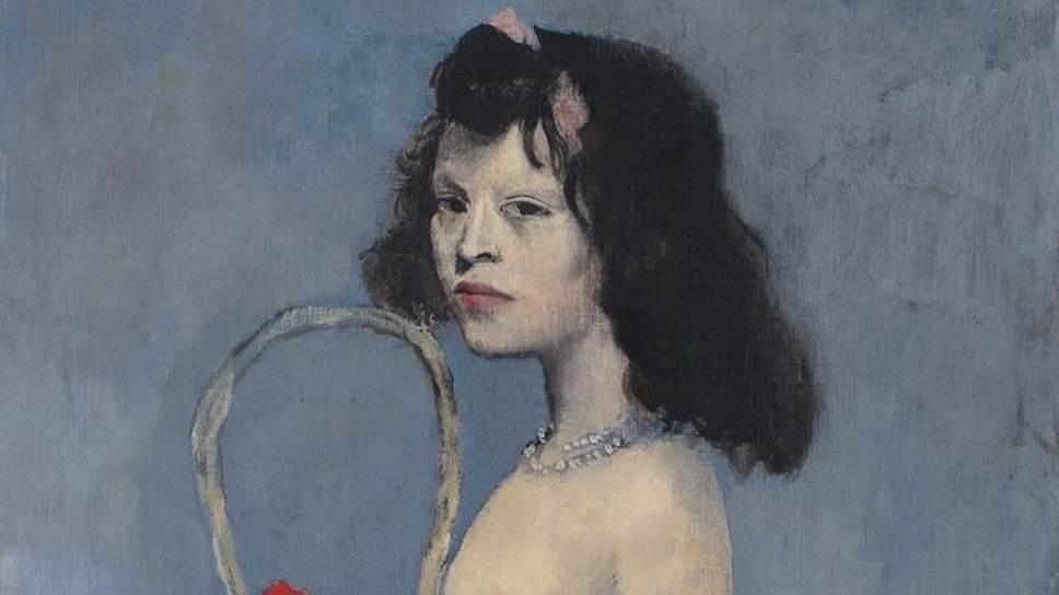 Пабло Пикассо. «Молодая девушка с цветочной корзиной», 1905 год