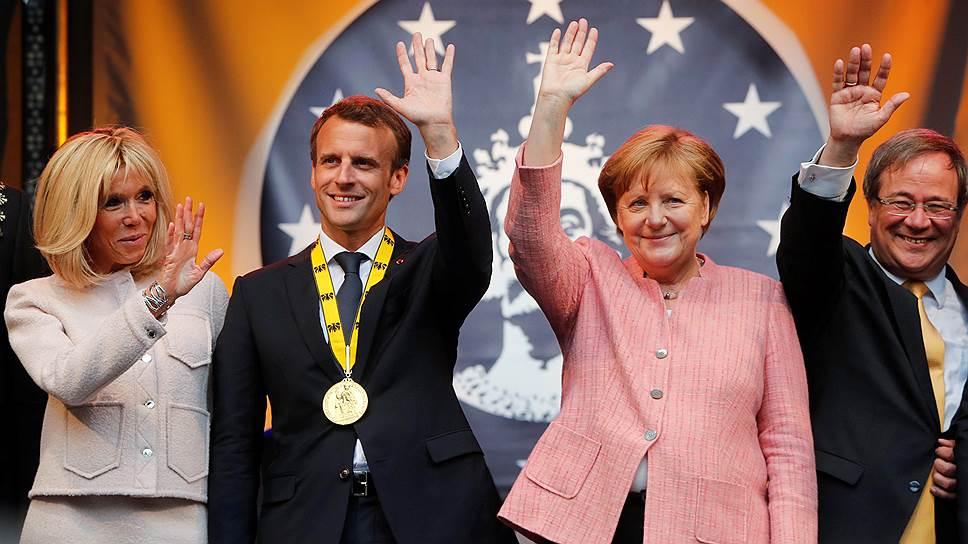 Президенту Франции Эмманюэлю Макрону, канцлеру Германии Ангеле Меркель и президенту Украины Петру Порошенко, сократившим «нормандскую четверку» до «тройки», удалось легко обо всем договориться