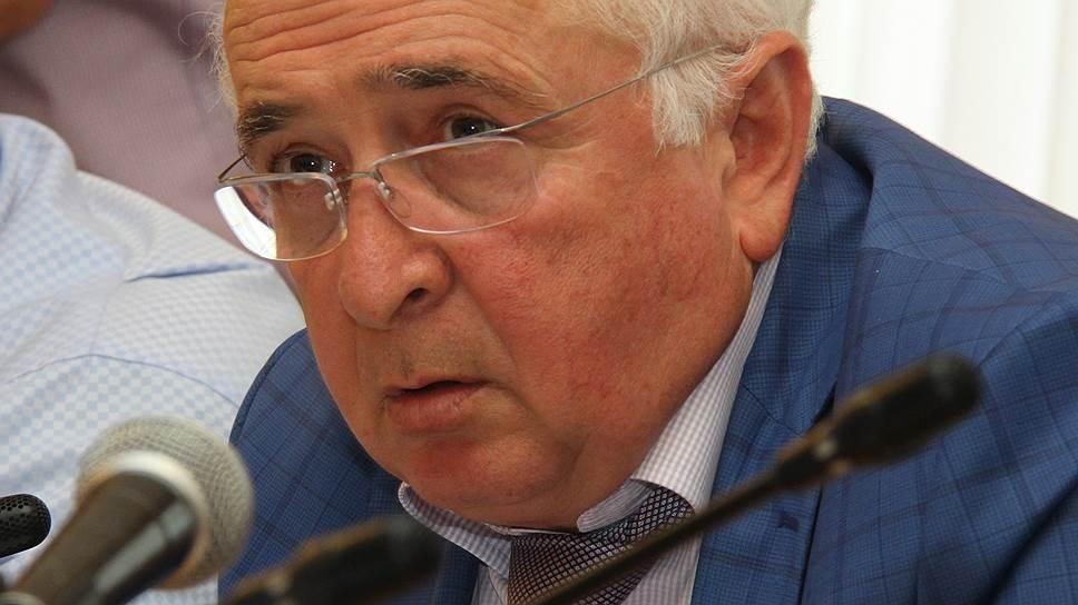 Бывший министр строительства, архитектуры и ЖКХ Дагестана Ибрагим Казибеков