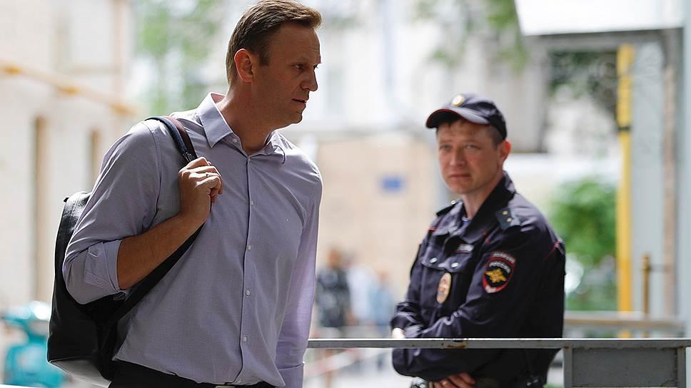 Как Алексей Навальный получил 30 суток ареста за организацию митинга 5 мая