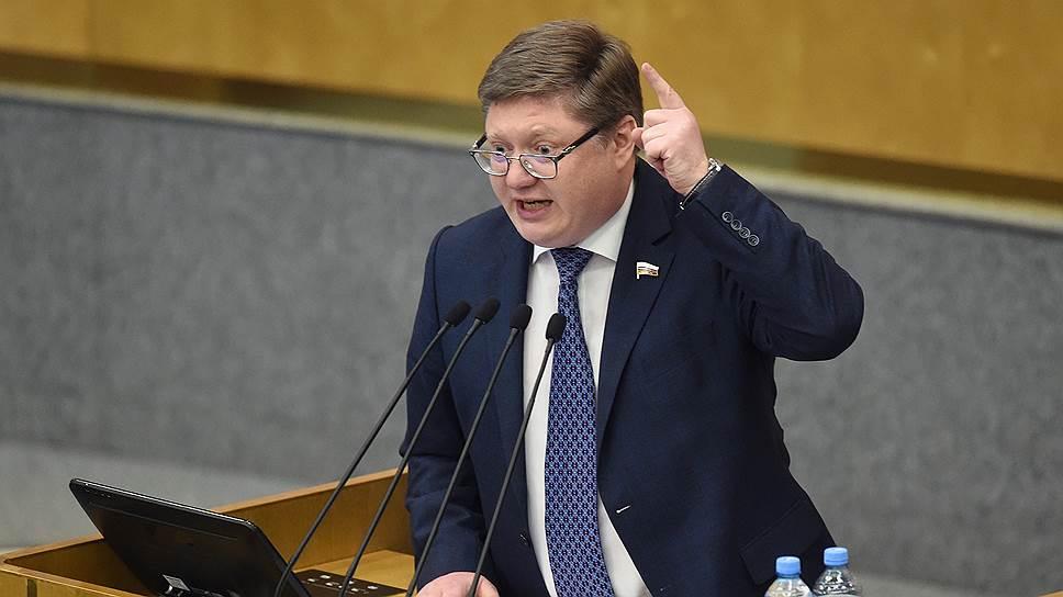 Первый заместитель главы фракции «Единой России» Андрей Исаев