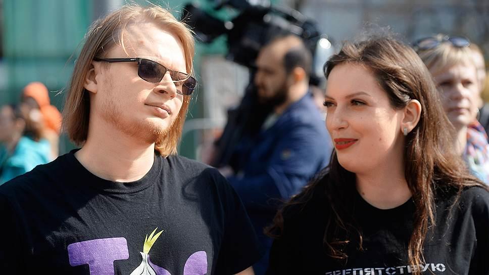 Математик Дмитрий Богатов с женой Татьяной Федоровой