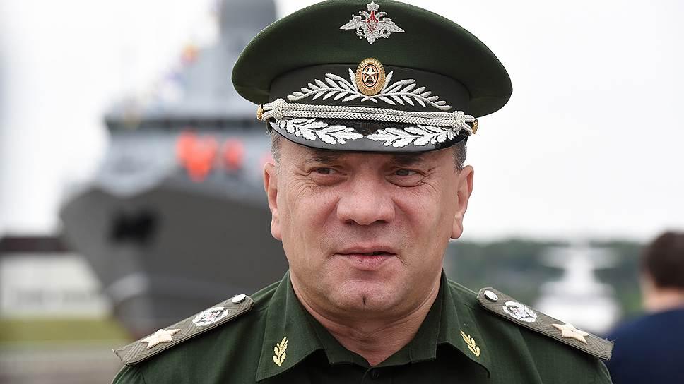 Замминистра обороны Юрий Борисов