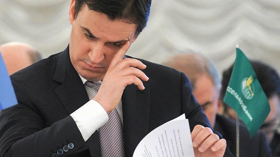Министр сельского хозяйства Дмитрий Патрушев