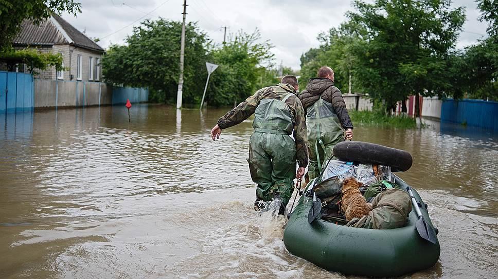 Как затопленный дом уплыл из жилого фонда