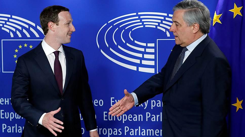 Как прошла встреча главы Facebook с представителями ЕС