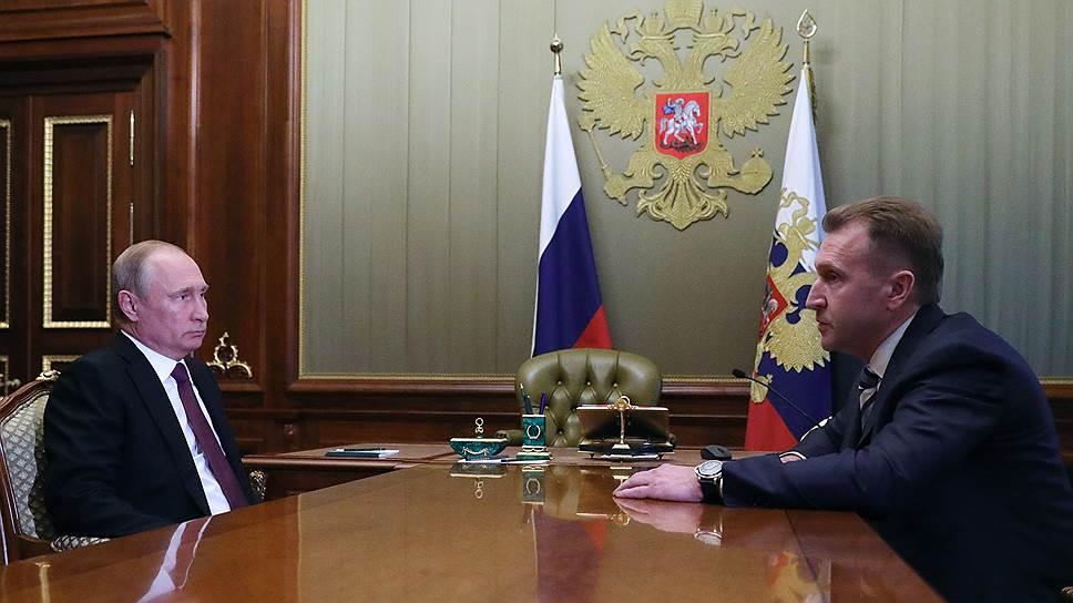 Какие задачи поставили перед Игорем Шуваловым при назначении главой ВЭБа