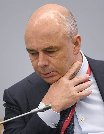 Первый вице-премьер—министр финансов Антон Силуанов во время сессии форума