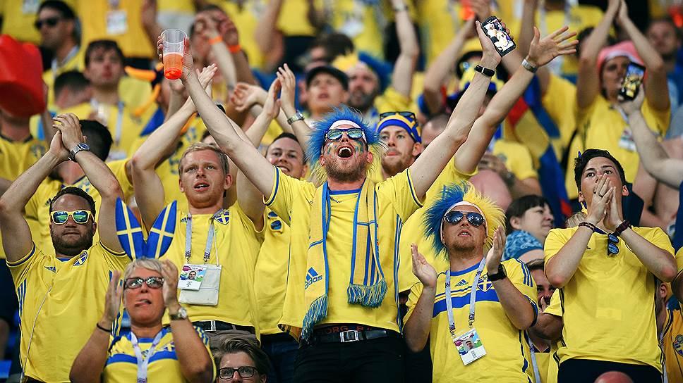 """""""Ъ"""" провел трансляцию матча Швеция—Швейцария"""