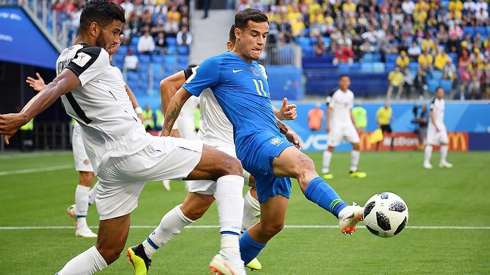 Бразилия—Коста-Рика: онлайн-трансляция матча