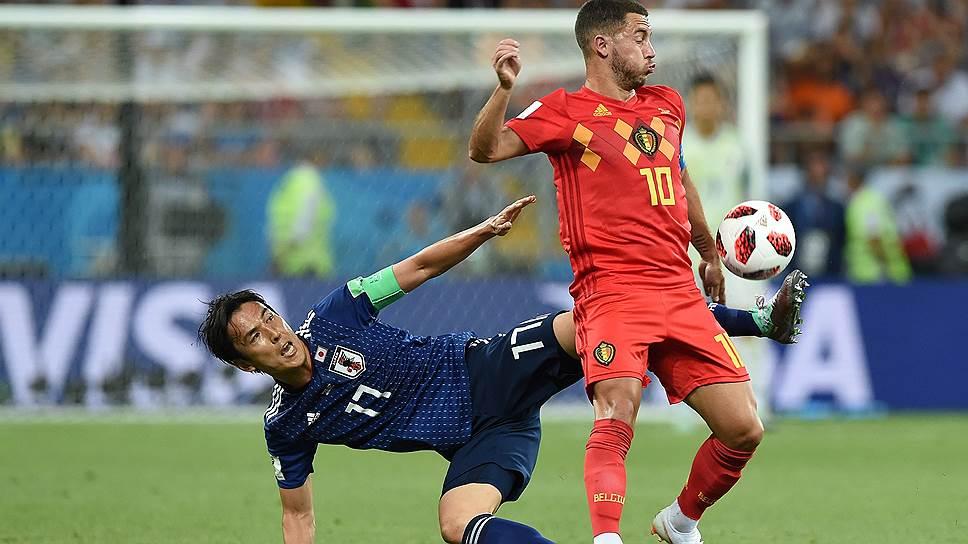 """Ъ"" провел онлайн-трансляцию матча Бельгия—Япония"