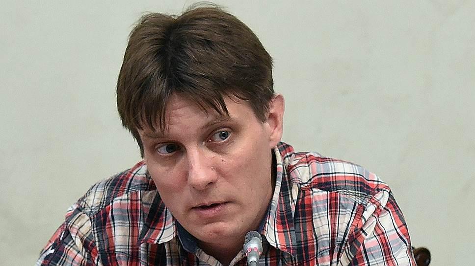 Руководитель движения «Даниловцы» Юрий Белановский