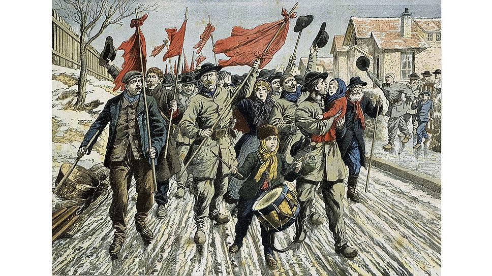 Начало ХХ века — пик забастовочного движения в Европе