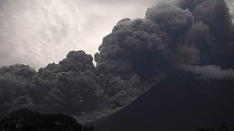 В Гватемале произошло извержение вулкана