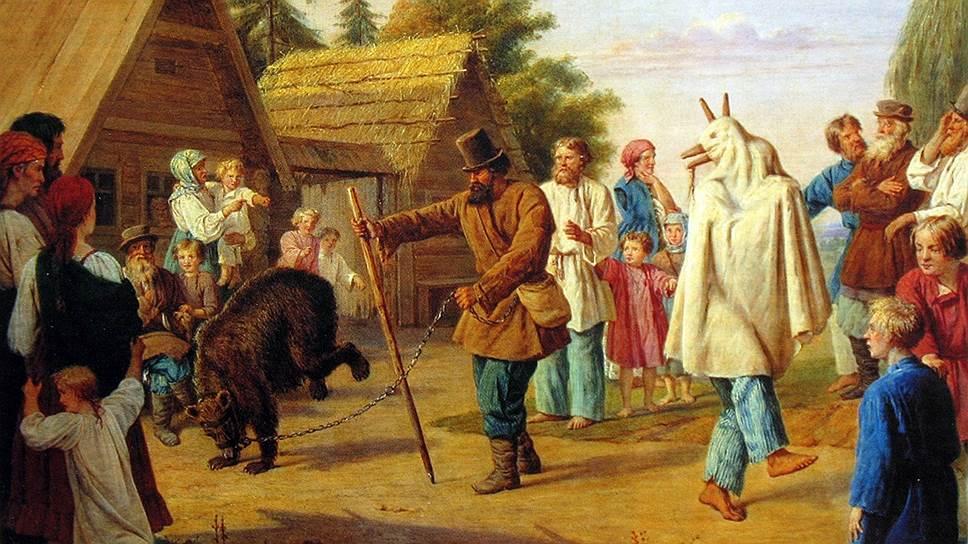 В деревнях верили, что медведи наделены не только громадной физической силой, но и сверхъестественными способностями