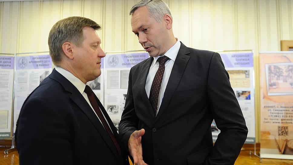 Как Андрей Травников и Анатолий Локоть разделили город и область