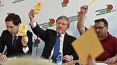 Московское «Яблоко» ослушалось руководства