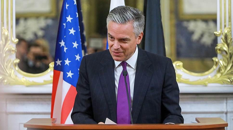 Посол США в России Джон Хантсман