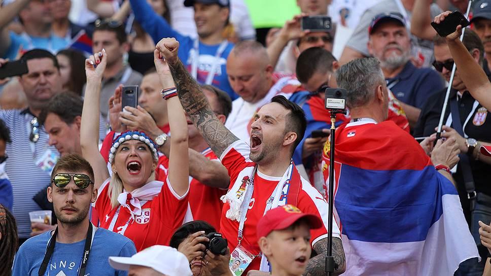 Почему сербским болельщикам билетов на ЧМ не досталось