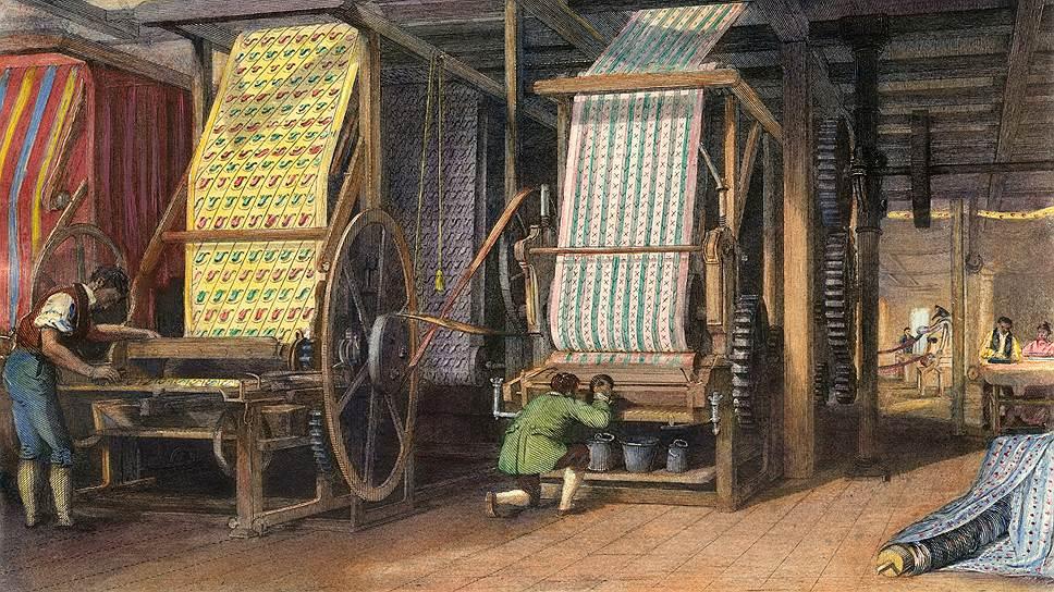 Благодаря промышленной революции ткани подешевели — и покупатели смогли позволить себе и новую одежду