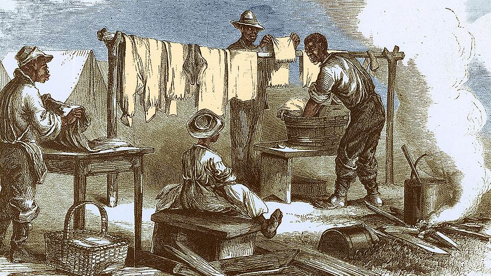Афроамериканцы даже во времена рабства отличались повышенным вниманием к текстильной продукции
