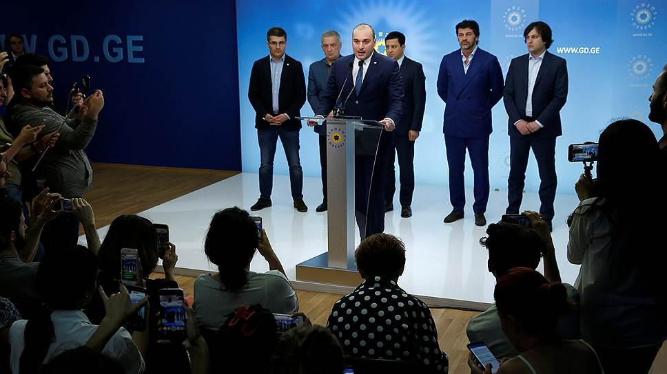 Новое правительство Грузии займется «необратимой интеграцией» в ЕС и НАТО