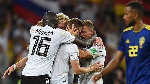 Чемпионы мира спаслись от вылета // Сборная Германии вырвала победу у шведов на последних секундах