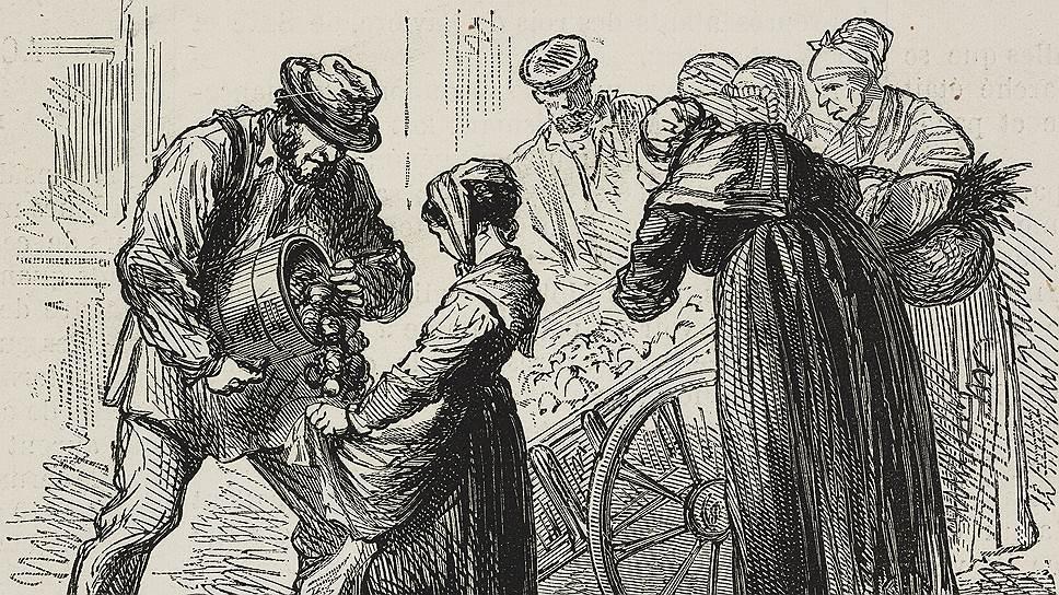 Начав путь на королевском столе, во Франции картошка быстро стала едой бедняков