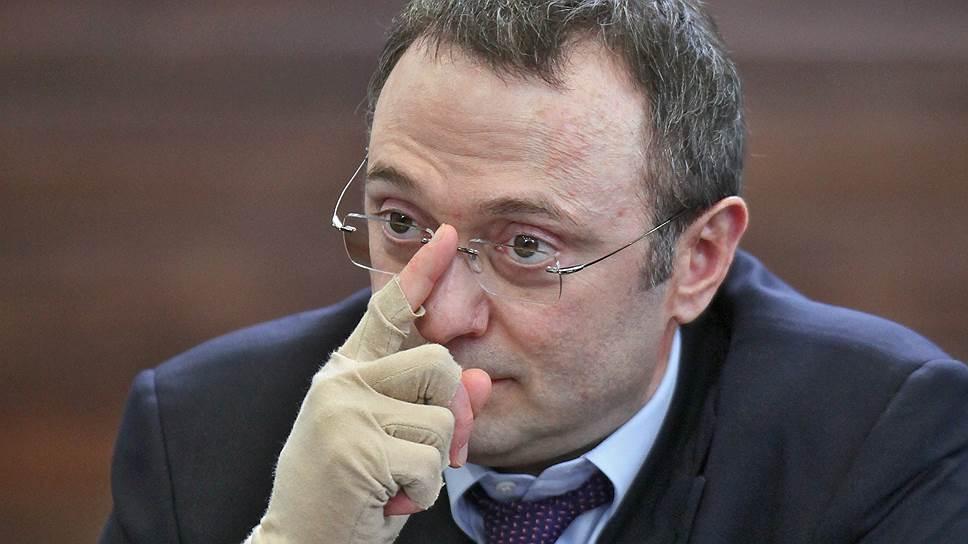 Член Совета федерации России Сулейман Керимов