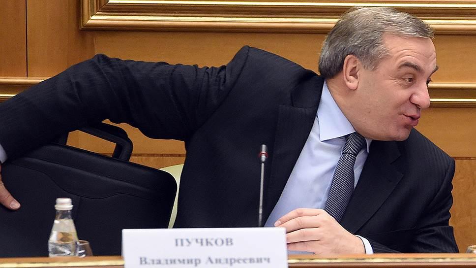 Бывший министр по чрезвычайным ситуациям Владимир Пучков