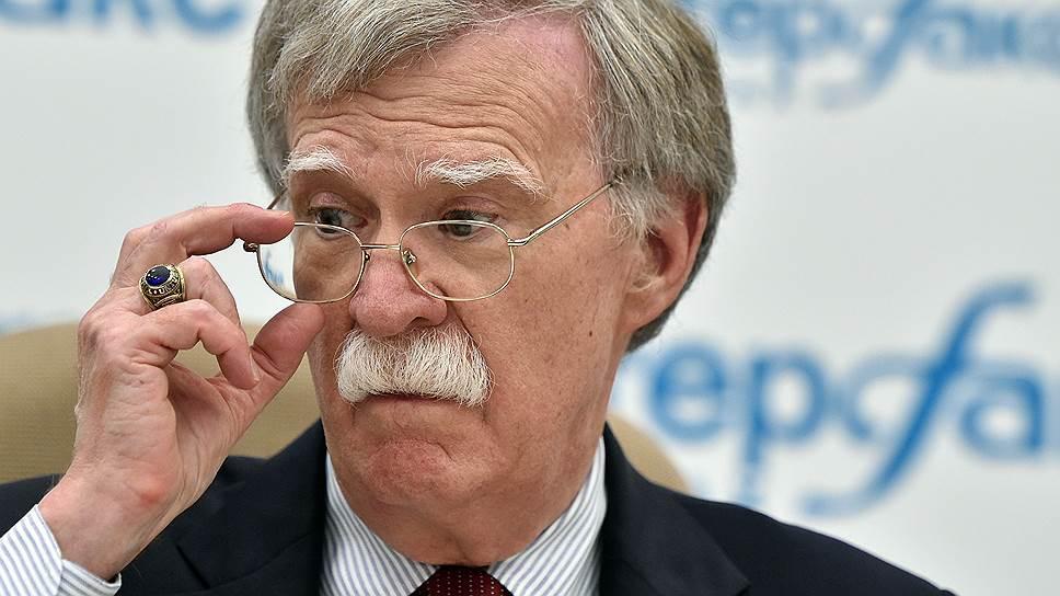 Зачем советник президента США по национальной безопасности Джон Болтон посетил Москву