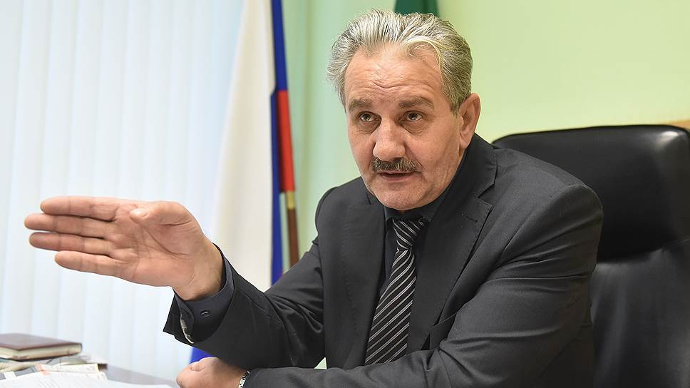 Глава Плюсского района Псковской области Виталий Аршинов