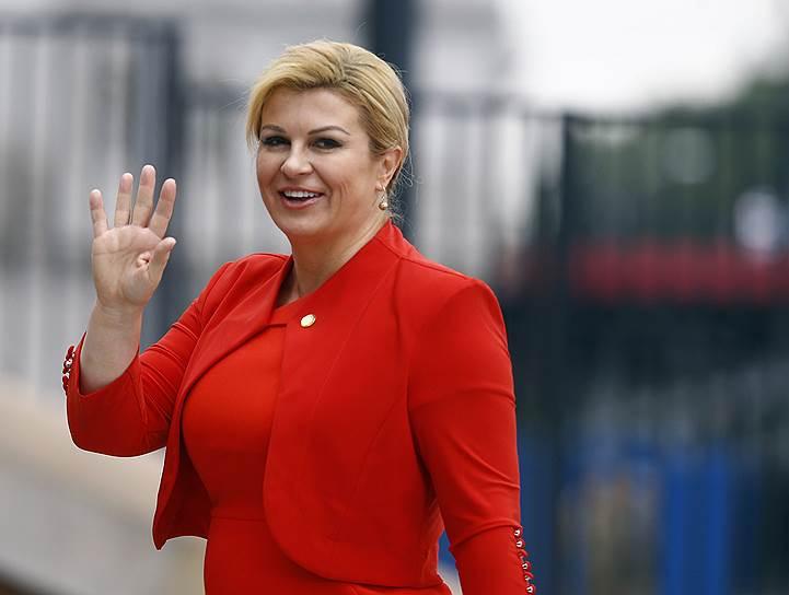 Президент Хорватии Колинда Грабар-Китарович, 2016 год