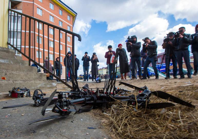 В 2018 году «Почта России» провела тестовую доставку беспилотником. Груз должен был быть доставлен из почтового отделения Улан-Удэ в село Тарбагатай в 35 км от города. Полет квадрокоптера завершился аварией