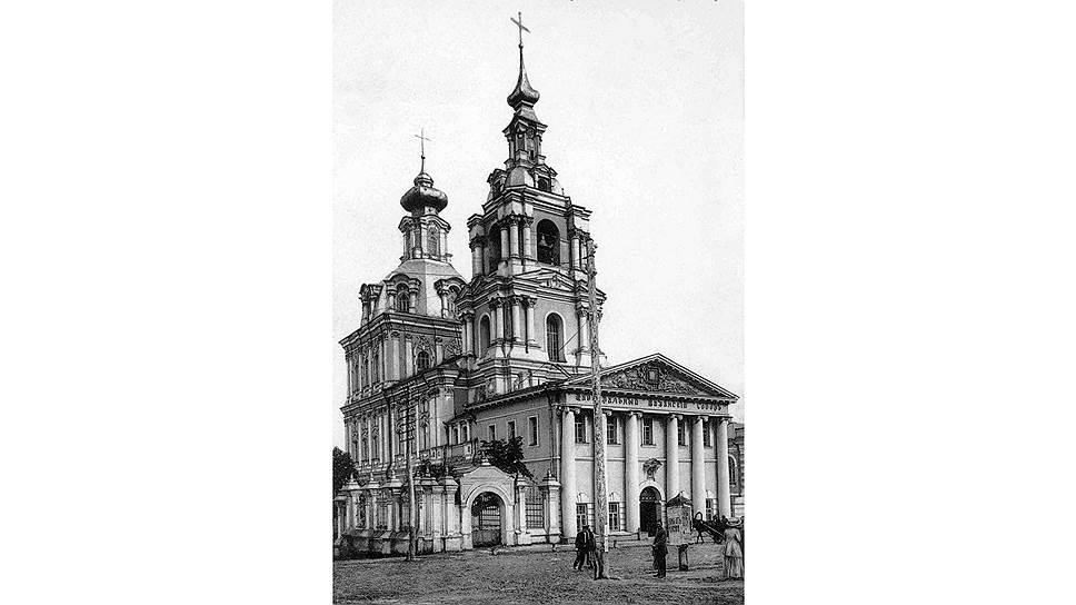 Сергиево-Казанский собор, с крыши которого упал семилетний Прохор, был зданием внушительных размеров, но с течением времени крыша здания превратилась в колокольню
