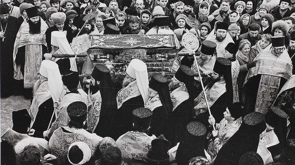 Считающиеся утраченными мощи Серафима Саровского были обнаружены в фондах Государственного музея истории религии при подготовке к переезду из здания Казанского собора