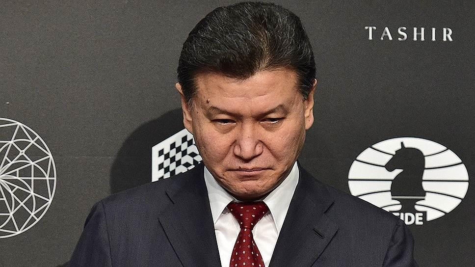 Президент FIDE Кирсан Илюмжинов
