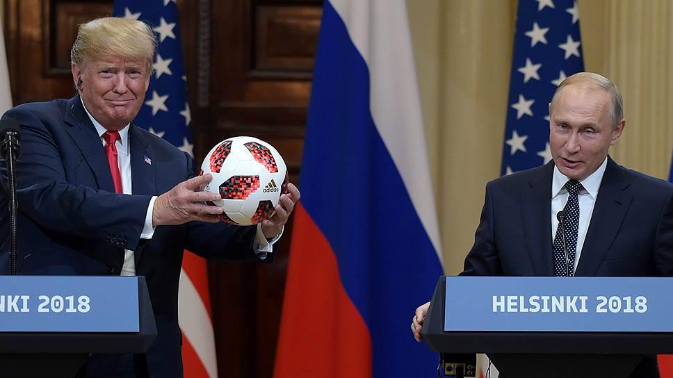 Как прошла встреча Владимира Путина и Дональда Трампа в Хельсинки