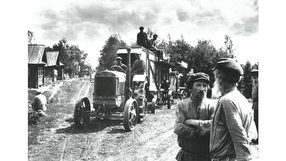 Попытка организовать пенсионное обеспечение колхозников впервые случилась лишь в 1935 году